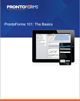ProntoForms 101