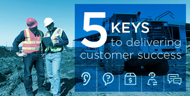 5 Keys to delivering customer succeess
