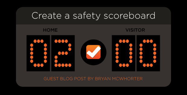 Create a safety scoreboard