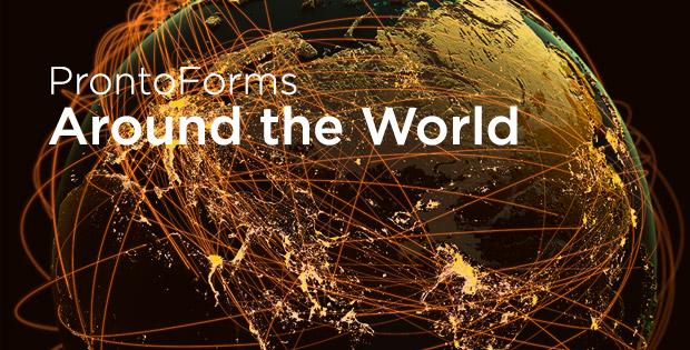 "Promo for ""ProntoForms Around the World"""