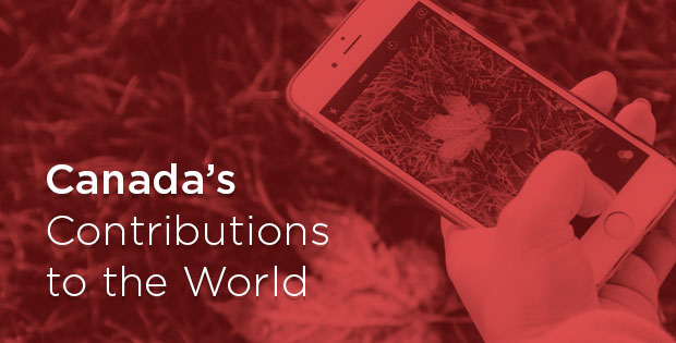 """Promo for """"Canada's Contributions to the World"""""""