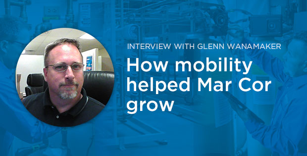 Promo for an Interview with Glenn Wanamaker from MarCor: How Mobility Helped MarCor Grow