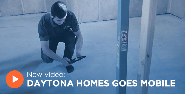 Daytona Homes Goes Mobile