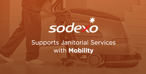 Sodexo Supports Janitorial Services with Mobility