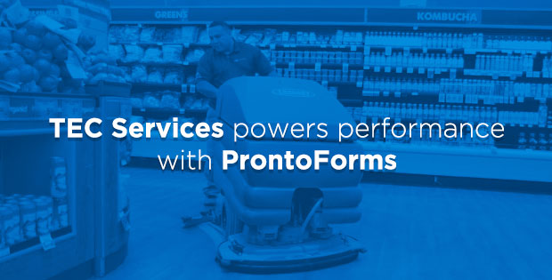 TEC Services powers performance with ProntoForms