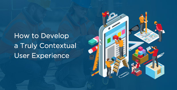 Contextual user experience graphic