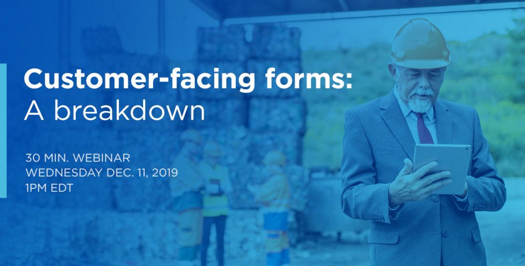 Customer-facing forms: A breakdown