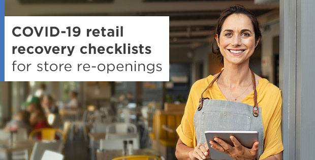 COVID-19 retail recovery checklists