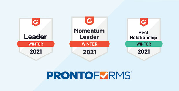 ProntoForms is a leader in mobile forms automation