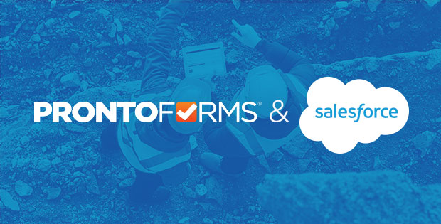 ProntoForms custom mobile forms extends Salesforce into the field to help manage field work efficiently.