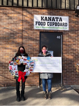 ProntoForms raised funds for the Kanata Food Cupboard demonstrating how much ProntoCares