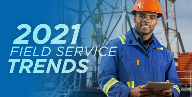Discover important field service trends for 2021 covered in The Service Council's January IdeaShare.