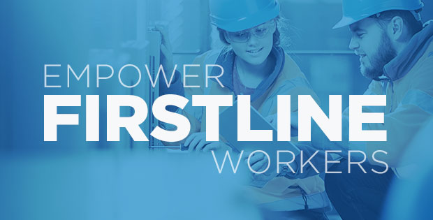 A digital firstline worker platform like ProntoForms sets the stage for working with others to produce better ways of completing a job.