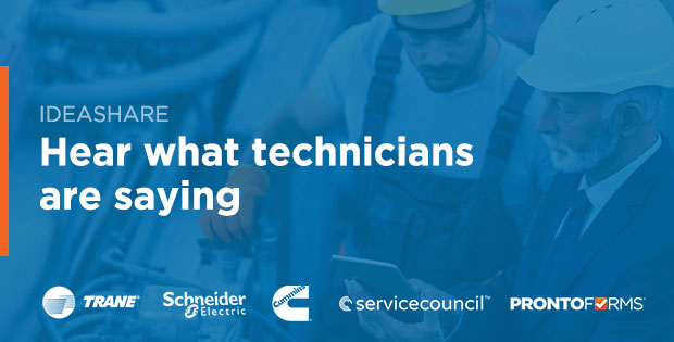 ProntoForms gathered a panel of field service executives and technicians to discuss how to improve satisfaction for technicians and customers alike.