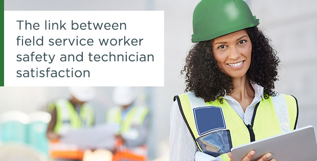 ProntoForms understands the link between field service worker safety and field service technician satisfaction.