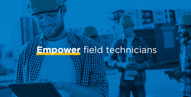 Keep your field service technicians happy with a tool they'll actually use. ProntoForms eliminates paperwork and lets them do the work they love.
