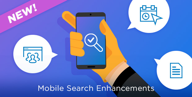 ProntoForms has released enhancements to our mobile search feature that increases the current capabilities available to select customers.