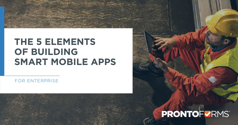 The 5 Elements of Building Smart Mobile Apps packshot