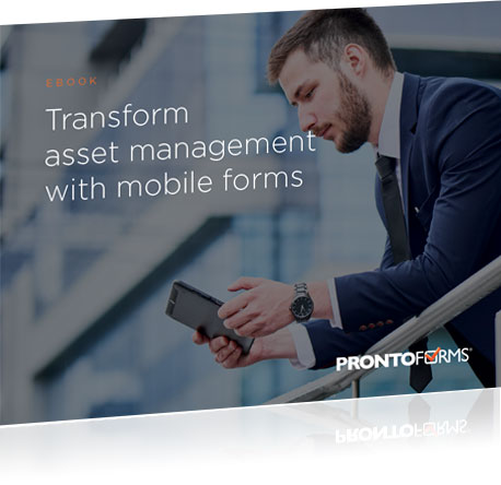 Transform Asset Management with Mobile Forms packshot