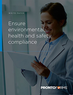 Ensure environmental health and safety compliance packshot