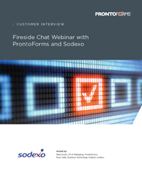 How Sodexo enhances service quality with a mobile solution transcript