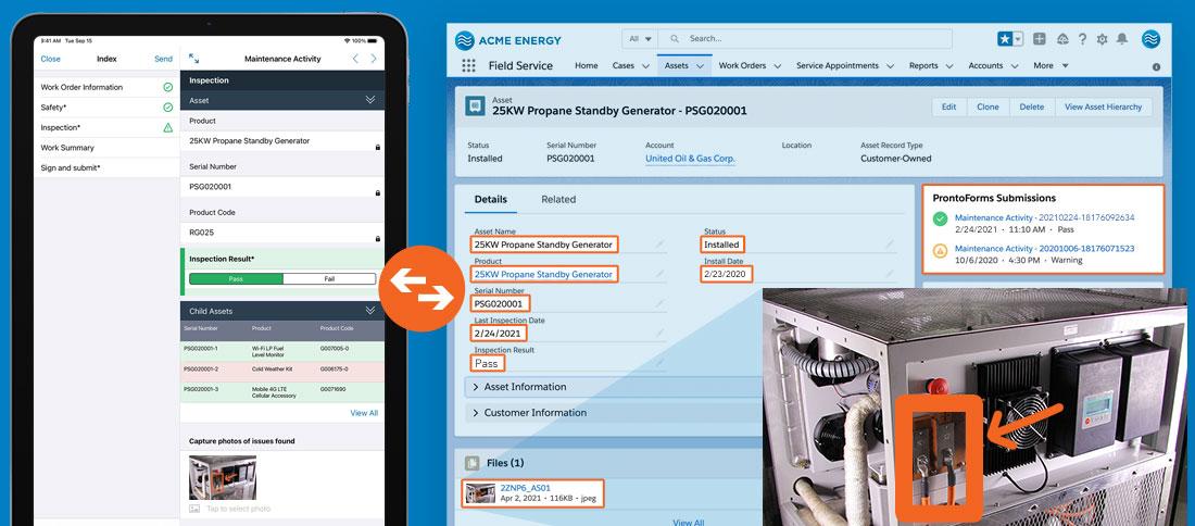 Mobile Forms for Sales Teams | Salesforce Integration